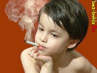 Дымит белым дымом